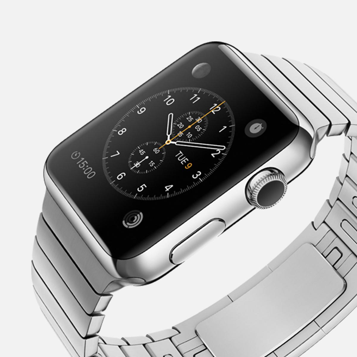 18 karaats rosé gouden Apple Watch