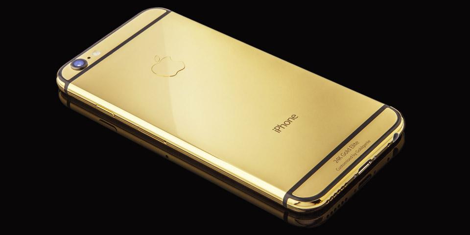 Luxe Gold iPhone 6 te koop